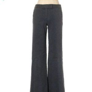 theory gray ponte stretch dress pants